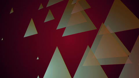 Elegance Color Triangle stock footage