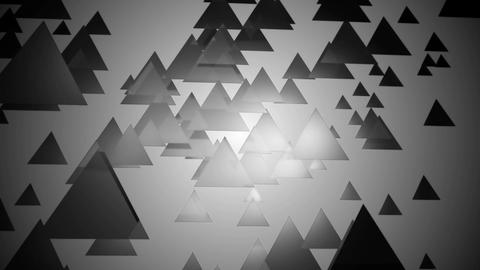 grayscale triangle motion Animation
