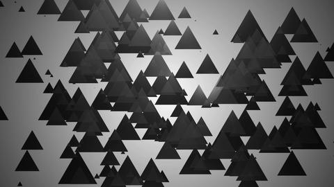 grey spotlights triangle Animation