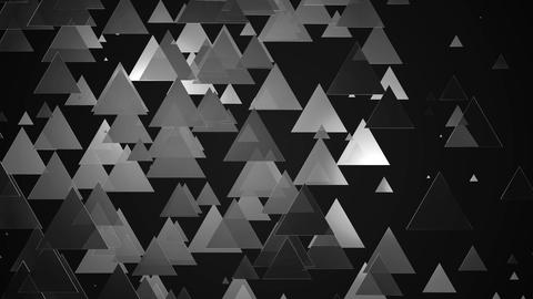 dark triangle lights Animation