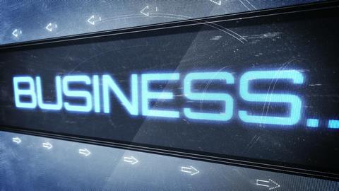 Business pixel design Animation