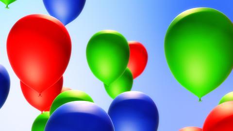 Balloons Backround (Loop) Animation