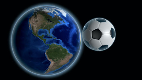 soccer planet Stock Video Footage