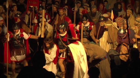 via crucis 02 Stock Video Footage