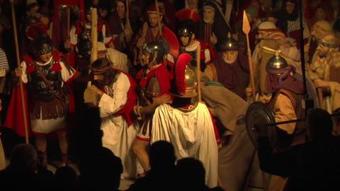 via crucis 02 Stock Video Footage
