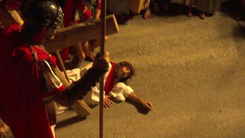 via crucis 04 Stock Video Footage