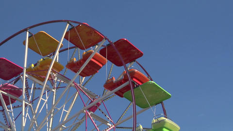 ferris wheel 02 Stock Video Footage