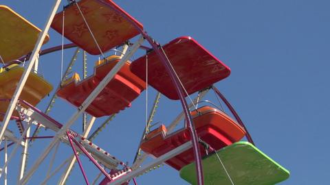 ferris wheel 02 Stock Video Footage