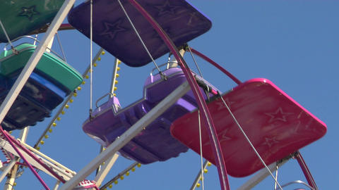 ferris wheel 04 Stock Video Footage