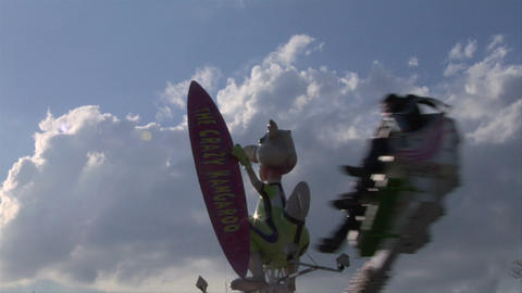 jump and smile 01 Stock Video Footage