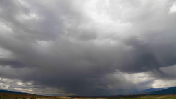 Dramatic Cloudscape, Time Lapse Stock Video Footage