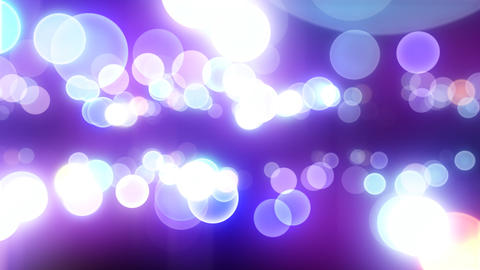 Neon Light in Dot E HD Stock Video Footage