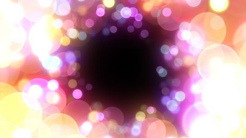 Neon Light in Dot Kt HD Stock Video Footage