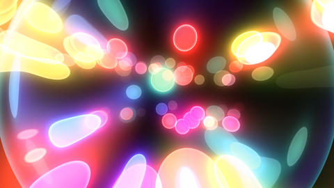 Neon Light Pan Dot F HD Stock Video Footage
