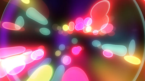 Neon Light Pan Dot F HD CG動画