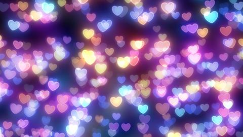 Neon Light Pan Heart F HD Animation