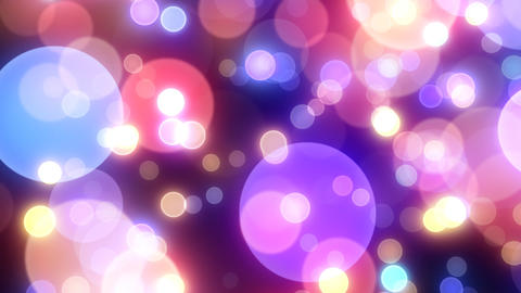 Neon Light Wave Dot H HD Stock Video Footage
