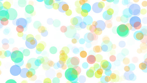2D Pattern Pan Dot J HD Stock Video Footage
