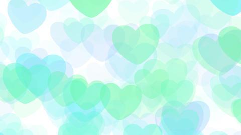 2D Pattern Pan Heart E HD Animation