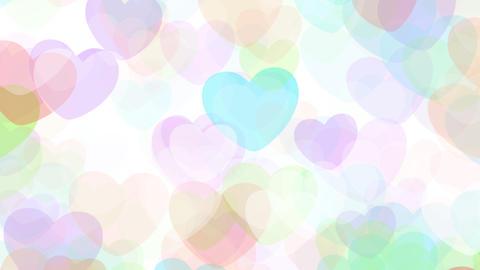 2D Pattern Pan Heart G HD Stock Video Footage