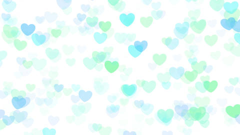 2D Pattern Wave Heart E HD Animation