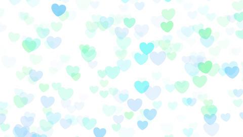 2D Pattern Wave Heart E HD Stock Video Footage
