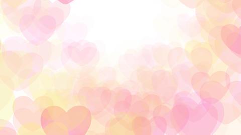 2D Pattern Wave Heart G HD Stock Video Footage