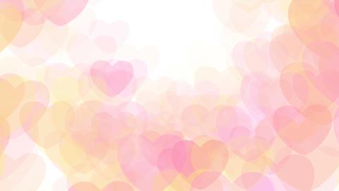 2D Pattern Wave Heart G HD Animation