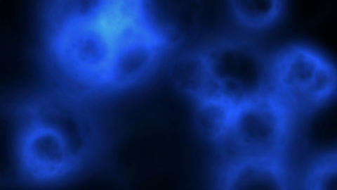 Blue blobs Stock Video Footage