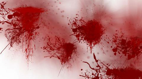 Blood splatters Stock Video Footage