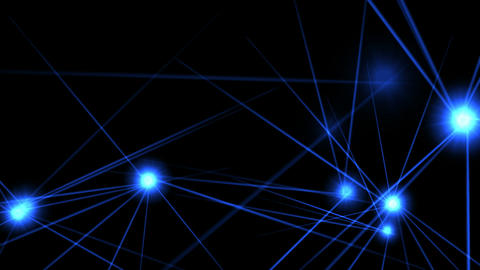 Abstract network background Animation