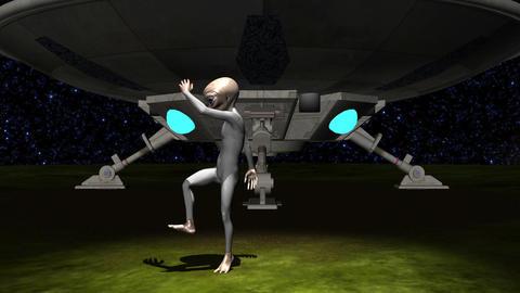 宇宙人 グレイ Animation