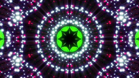 VJ Loops Colorful Kaleidoscopes 0