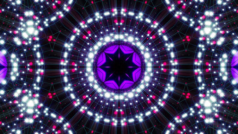 VJ Loops Colorful Kaleidoscopes 2