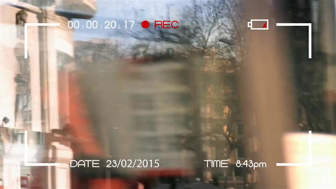Camera Recording Screen After Effects Template