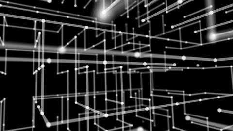 Geometry Back Ground Black Animation