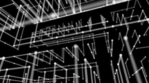 Geometry Back Ground Black Stock Video Footage