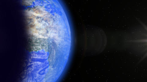 Solar In Space stock footage