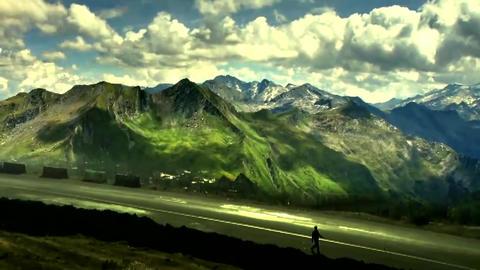 Magic Land 3 ( VFX Shot ) stock footage