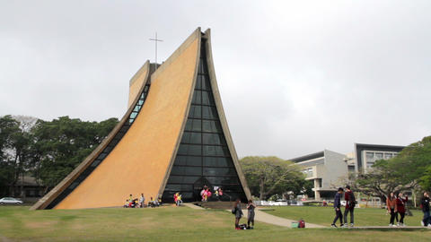 Taichung Luce Memorial Chapel. HD Footage