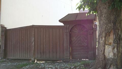 Wood Household Gate Footage