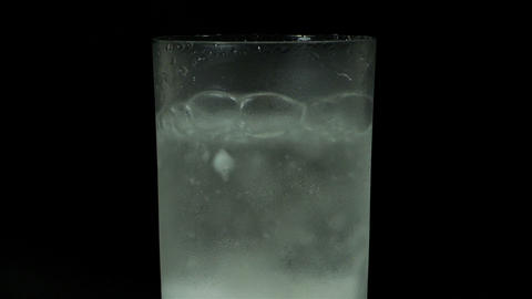 Boiling substance in a test tube Footage