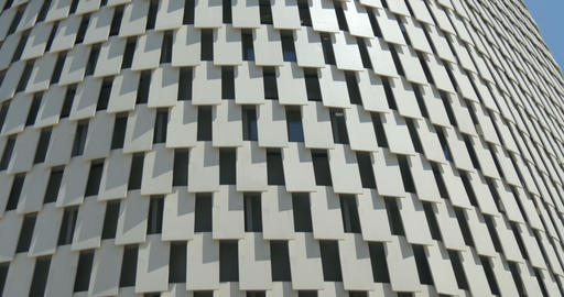 architectural metal white pattern 01 Footage