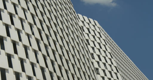 architectural metal white pattern 03 Footage