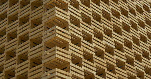 architectural wood pattern 02 Footage