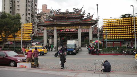Taipei Longshan Temple. HD ビデオ