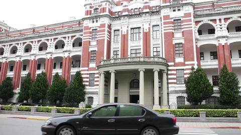 President's Palace, Taipei. HD Live Action