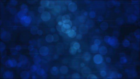 Particle Background Animation - Loop Blue Animation