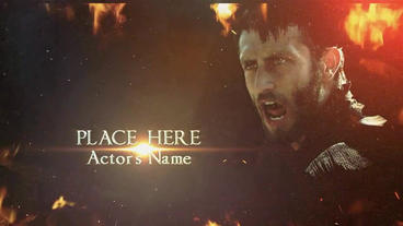 """Cinematic titles """"The Imperator """" After Effects Project"""