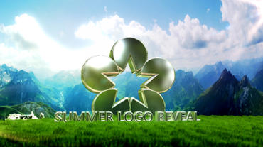 Summer Logo Reveal After Effects Project